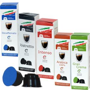 Capsules compatibles Caffitaly® - Cafés Dolce Vita