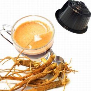 Maxi Café Caramel avec Ginseng, capsules compatibles Dolce Gusto