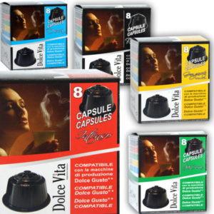 Capsules compatibles Dolce Gusto® - Cafés Dolce Vita