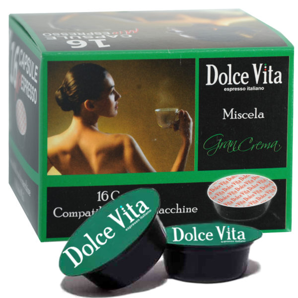 Gran Crema – Dolce Vita, compatible LAVAZZA MODO MIO®