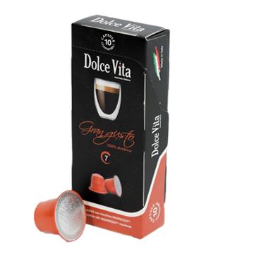 Gran Gusto – Dolce Vita, compatible Nespresso