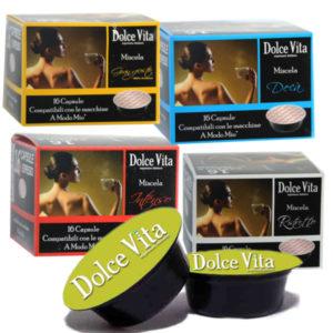 Capsules compatibles Lavazza Modo Mio® - Cafés Dolce Vita