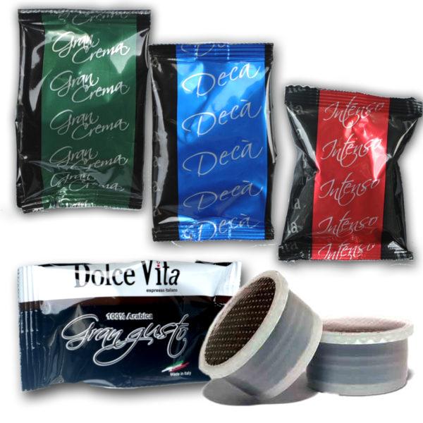 Dégustation  café Dolce Vita, compatible LAVAZZA®-Poin /Fap