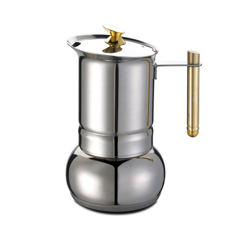 Cafetière  Induction  Inox  G.A.T. AMORE +gaz, plaque électrique, vitrocéramique,