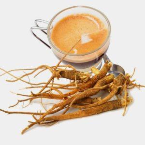 Café Caramel avec Ginseng, capsules compatibles Nespresso