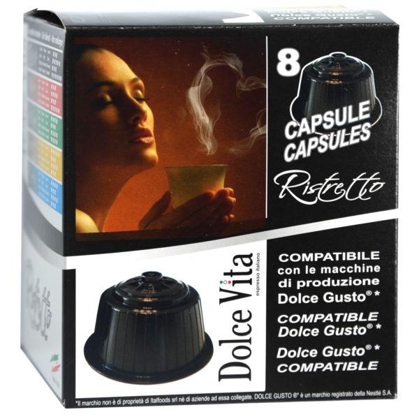 Ristretto – Dolce Vita, compatible Dolce Gusto 8x
