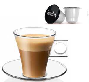 CORTADO (MACCHIATO) Light decàf  compatible Nespresso®10x