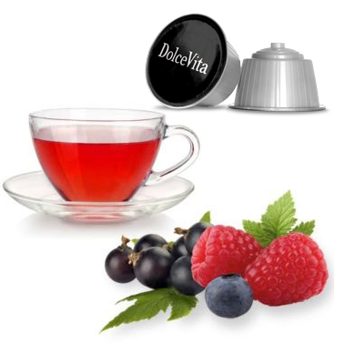 Tisane  relax Fruits Rouges compatible DOLCE-GUSTO®