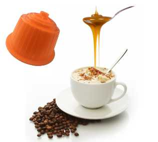 Cappuccino Caramel compatible Dolce Gusto de 16 capsules